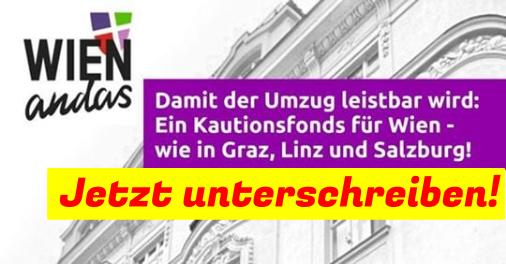 Wien braucht einen Kautionsfonds – damit der Umzug leistbar wird